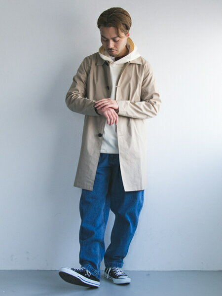 URBAN RESEARCHさんのパーカー「ポンチルーズプルオーバーパーカー」を使ったコーディネートを紹介します。|ファッション通販楽天ブランドアベニュー(旧スタイライフ Stylife)17716
