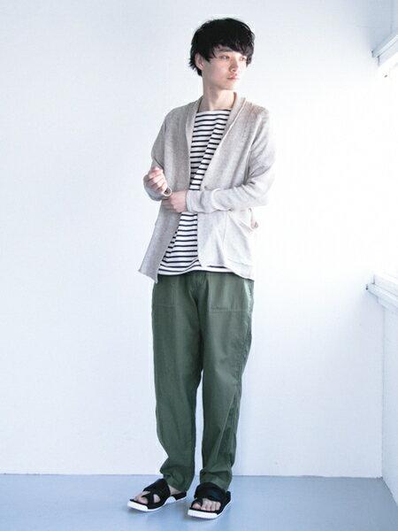 URBAN RESEARCHさんのTシャツ「バスクシャツ」を使ったコーディネートを紹介します。 ファッション通販楽天ブランドアベニュー(旧スタイライフ Stylife)20516