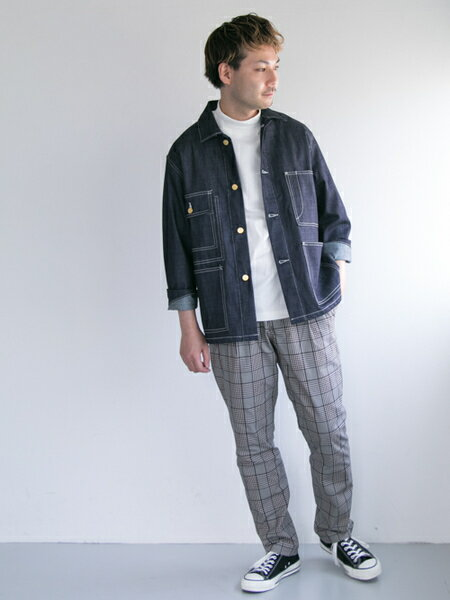 URBAN RESEARCHさんのカバーオール「COVERALL」を使ったコーディネートを紹介します。|ファッション通販楽天ブランドアベニュー(旧スタイライフ Stylife)24963