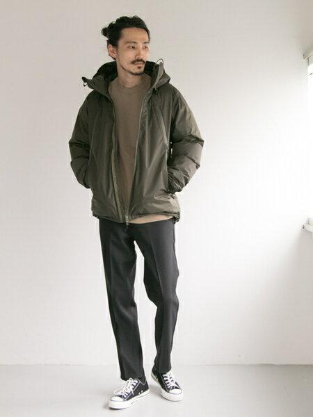 URBAN RESEARCHさんのダウンジャケット「NANGA×URBAN RESEARCH iD AURORA 3LAYER DOWN BLOUSON」を使ったコーディネートを紹介します。|ファッション通販楽天ブランドアベニュー(旧スタイライフ Stylife)25112