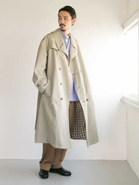 URBAN RESEARCHさんのパンツその他「コットンサテンワイドトラウザー」を使ったコーディネートを紹介します。|ファッション通販楽天ブランドアベニュー(旧スタイライフ Stylife)25441