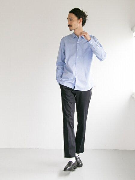 URBAN RESEARCHさんのパンツその他「ワンダーシェイプスリムトラウザー」を使ったコーディネートを紹介します。|ファッション通販楽天ブランドアベニュー(旧スタイライフ Stylife)25959