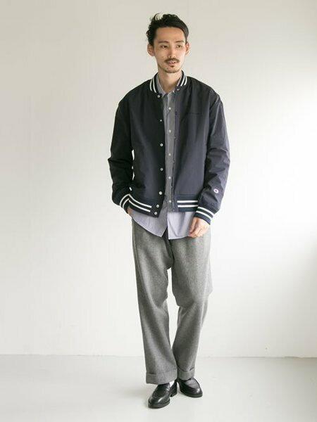 URBAN RESEARCHさんのパンツその他「Wool tuck wide pants」を使ったコーディネートを紹介します。|ファッション通販楽天ブランドアベニュー(旧スタイライフ Stylife)26708