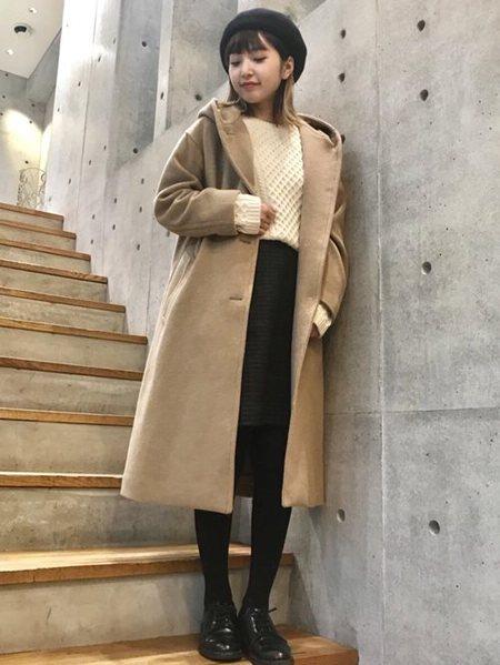 URBAN RESEARCHさんのコート/ジャケットその他「オーバーフードコート」を使ったコーディネートを紹介します。|ファッション通販楽天ブランドアベニュー(旧スタイライフ Stylife)27496