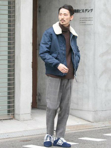 URBAN RESEARCHさんのブルゾン「ALPHA INDUSTRIES×URBAN RESEARCH iD 別注CWU-45P ジャケット」を使ったコーディネートを紹介します。|ファッション通販楽天ブランドアベニュー(旧スタイライフ Stylife)27498