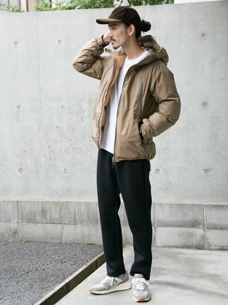 URBAN RESEARCHさんのダウンジャケット「NANGA×URBAN RESEARCH iD AURORA 3LAYER DOWN BLOUSON」を使ったコーディネートを紹介します。|ファッション通販楽天ブランドアベニュー(旧スタイライフ Stylife)27501
