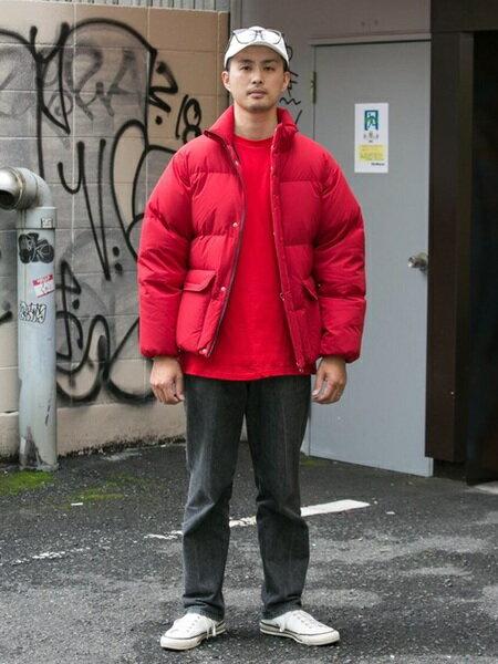 URBAN RESEARCHさんのダウンジャケット「グリーンダウンスタンドブルゾン」を使ったコーディネートを紹介します。|ファッション通販楽天ブランドアベニュー(旧スタイライフ Stylife)28059