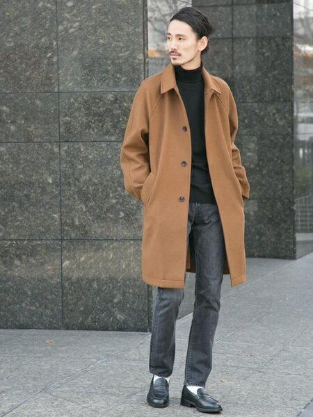 URBAN RESEARCHさんのステンカラーコート「サーモライトメルトンステンカラーコート」を使ったコーディネートを紹介します。 ファッション通販楽天ブランドアベニュー(旧スタイライフ Stylife)29894