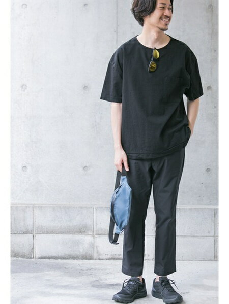 URBAN RESEARCHさんのTシャツ「jpmadeペーパー天竺シャツTシャツ」を使ったコーディネートを紹介します。|ファッション通販楽天ブランドアベニュー(旧スタイライフ Stylife)37193