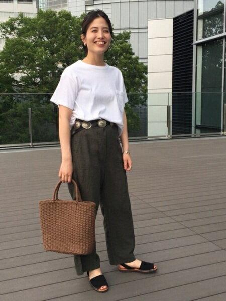 BEAMS WOMENさんのサンダル/ミュール「Pene Menorca Sdl」を使ったコーディネートを紹介します。|ファッション通販楽天ブランドアベニュー(旧スタイライフ Stylife)21541