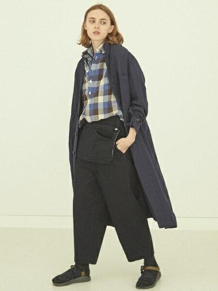 BEAMS WOMENさんのロングコート「BEAMS BOY / リネン ショップ コート ビームスボーイ ロングコート」を使ったコーディネートを紹介します。|ファッション通販楽天ブランドアベニュー(旧スタイライフ Stylife)21858