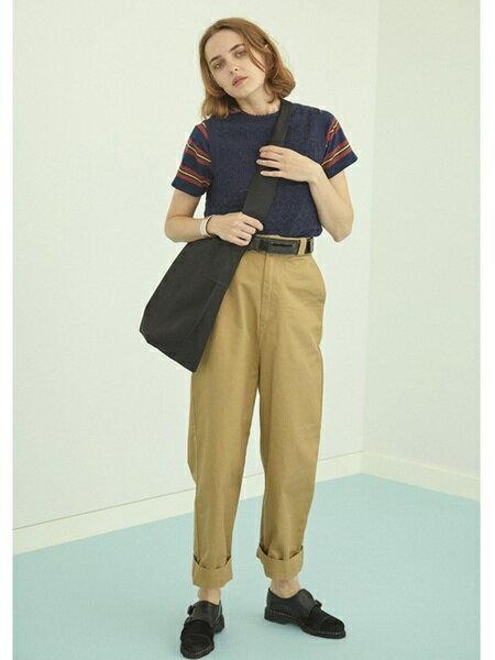 BEAMS WOMENさんのトートバッグ「BEAMS BOY / キャンバス ショルダー バッグ ビームスボーイ」を使ったコーディネートを紹介します。|ファッション通販楽天ブランドアベニュー(旧スタイライフ Stylife)21859