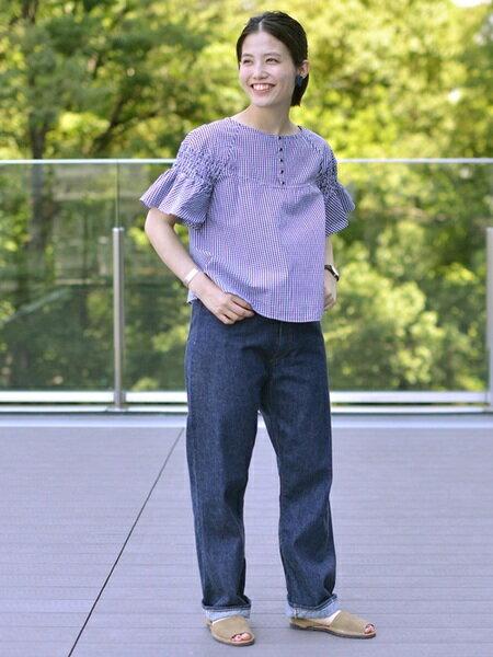 BEAMS WOMENさんのサンダル/ミュール「Pene Menorca Sdl」を使ったコーディネートを紹介します。|ファッション通販楽天ブランドアベニュー(旧スタイライフ Stylife)22232