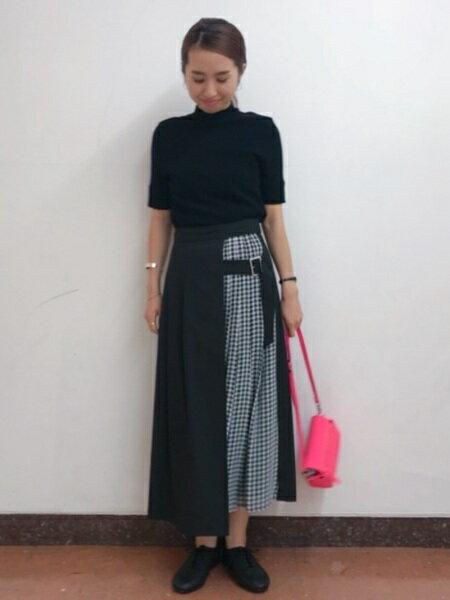 BEAMS WOMENさんのプリーツスカート/ギャザースカート「Ray BEAMS / チェック キリカエ プリーツ スカート レイビームス スカート レディース」を使ったコーディネートを紹介します。|ファッション通販楽天ブランドアベニュー(旧スタイライフ Stylife)25172