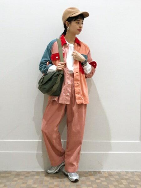 BEAMS WOMENさんのフルレングス「O.WideCordDeep-R」を使ったコーディネートを紹介します。|ファッション通販楽天ブランドアベニュー(旧スタイライフ Stylife)25712