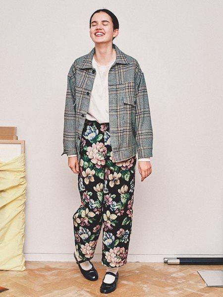 BEAMS WOMENさんのソックス/靴下「BEAMS BOY / 1/2ソリッド リブソックス ビームスボーイ 靴下 くるぶし」を使ったコーディネートを紹介します。|ファッション通販楽天ブランドアベニュー(旧スタイライフ Stylife)26252