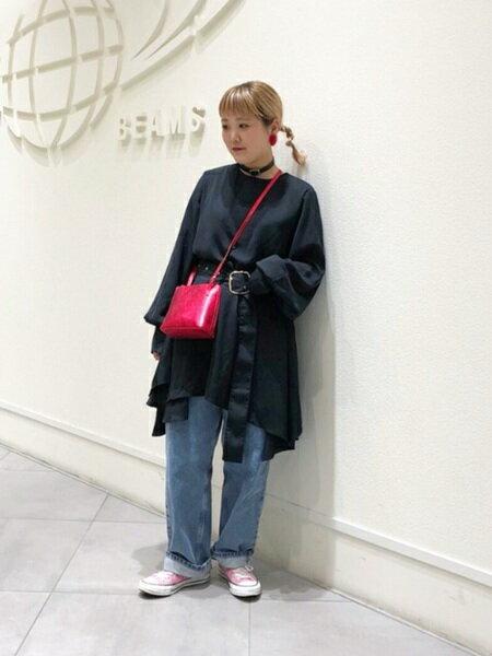 BEAMS WOMENさんのショルダーバッグ「LAURA/MミニsldBgSP」を使ったコーディネートを紹介します。 ファッション通販楽天ブランドアベニュー(旧スタイライフ Stylife)27614