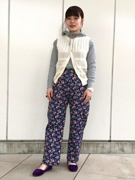 BEAMS WOMENのHealthknit × BEAMS BOY / ワッフル プルオーバー パーカを使ったコーディネートを紹介します。|Rakuten Fashion(楽天ファッション/旧楽天ブランドアベニュー)31186