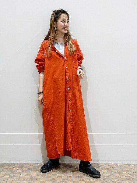 BEAMS WOMENのBEAMS BOY / ビエラ パジャマ シャツワンピース beamsboy オリジナル ビームスボーイ ワンピース シャツ ロング ビッグ ビッグシルエット パジャマドレス シャツワンピ 新作 定番 人気 カジュアルを使ったコーディネートを紹介します。|Rakuten Fashion(楽天ファッション/旧楽天ブランドアベニュー)37852
