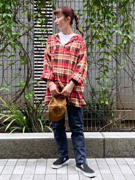 BEAMS WOMENのVANS / SLIP ONを使ったコーディネートを紹介します。|Rakuten Fashion(楽天ファッション/旧楽天ブランドアベニュー)40686