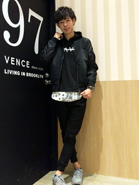 VENCE EXCHANGE カットソーのコーディネート
