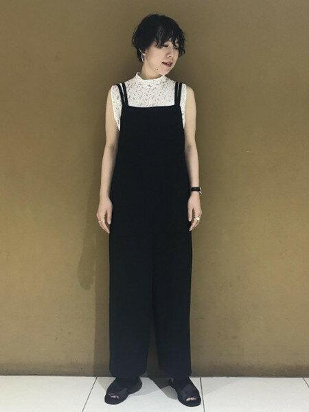 ADAM ET ROPE'さんのシャツ/ブラウスその他「インドレースタイトブラウス」を使ったコーディネートを紹介します。 ファッション通販楽天ブランドアベニュー(旧スタイライフ Stylife)22334