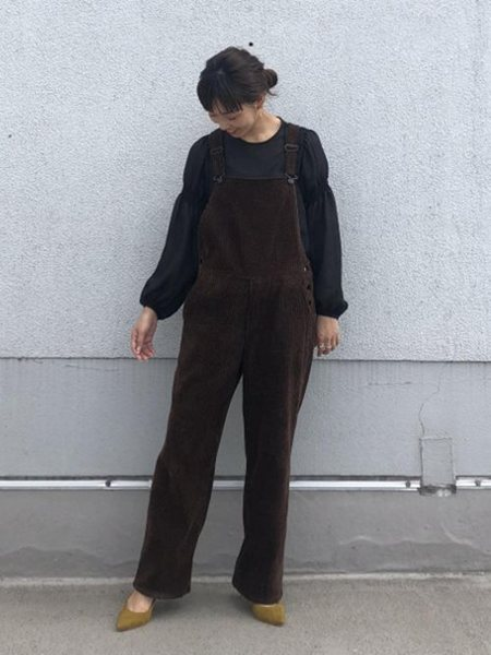 ADAM ET ROPE'のボロネーゼパンプスを使ったコーディネートを紹介します。|Rakuten Fashion(楽天ファッション/旧楽天ブランドアベニュー)25943