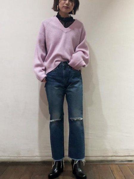 ADAM ET ROPE'の【BIGJOHNforADAMETROPE'】クロップドデニムヴィンテージを使ったコーディネートを紹介します。|Rakuten Fashion(楽天ファッション/旧楽天ブランドアベニュー)27818