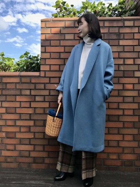 ADAM ET ROPE'のダブルメルトンコートを使ったコーディネートを紹介します。 Rakuten Fashion(楽天ファッション/旧楽天ブランドアベニュー)28634