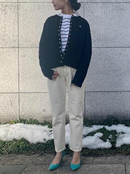 ADAM ET ROPE'の【雑誌掲載】カップインボロネーゼミドルヒールを使ったコーディネートを紹介します。|Rakuten Fashion(楽天ファッション/旧楽天ブランドアベニュー)29700