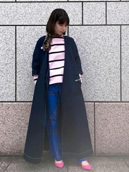 ADAM ET ROPE'の【雑誌掲載】カップインボロネーゼミドルヒールを使ったコーディネートを紹介します。 Rakuten Fashion(楽天ファッション/旧楽天ブランドアベニュー)30960
