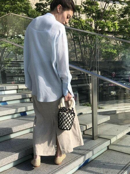 ADAM ET ROPE'のメッシュ編みフラットシューズを使ったコーディネートを紹介します。|Rakuten Fashion(楽天ファッション/旧楽天ブランドアベニュー)34793