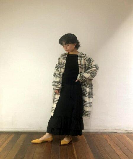 ADAM ET ROPE'の【ドラマ着用】モヘヤシャギーノーカラーコートを使ったコーディネートを紹介します。|Rakuten Fashion(楽天ファッション/旧楽天ブランドアベニュー)40483