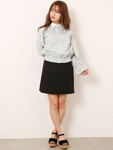 Ray Cassinさんの台形スカート/コクーンスカート「二重織りポケット付き台形スカート」を使ったコーディネートを紹介します。|ファッション通販楽天ブランドアベニュー(旧スタイライフ Stylife)20133