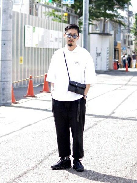 tk.TAKEO KIKUCHIさんのポロシャツ「オーバーサイズポロシャツ」を使ったコーディネートを紹介します。 ファッション通販楽天ブランドアベニュー(旧スタイライフ Stylife)22732