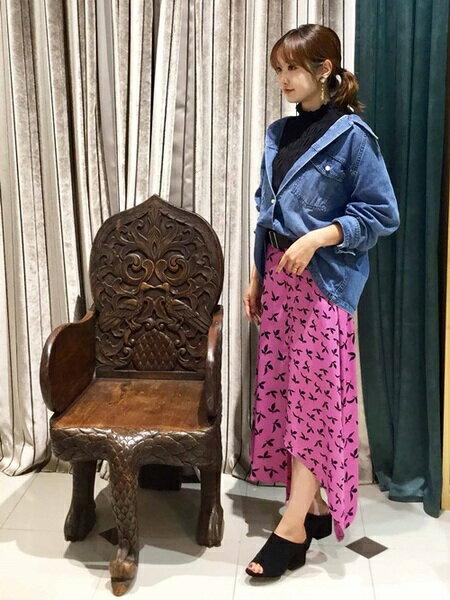 GRACE CONTINENTALのイレギュラースリットスカートを使ったコーディネートを紹介します。|Rakuten Fashion(楽天ファッション/旧楽天ブランドアベニュー)25593