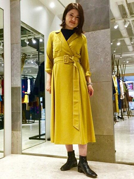 GRACE CONTINENTALのFABIO RUSCONI サイドゴアブーツを使ったコーディネートを紹介します。 Rakuten Fashion(楽天ファッション/旧楽天ブランドアベニュー)26672