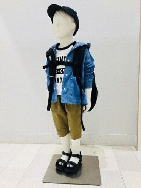 GLOBAL WORKさんのキッズパンツ「(K)フハクサルエルショーツ」を使ったコーディネートを紹介します。|ファッション通販楽天ブランドアベニュー(旧スタイライフ Stylife)32486