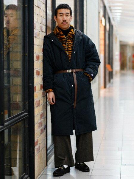 BEAMS MENのBEAMS / 畦編み タートルネック ニットを使ったコーディネートを紹介します。 Rakuten Fashion(楽天ファッション/旧楽天ブランドアベニュー)29233