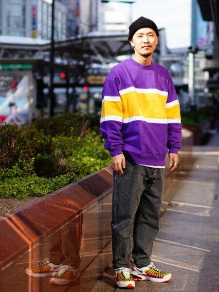 BEAMS MENのBEAMS / バギーテーパードデニムを使ったコーディネートを紹介します。|Rakuten Fashion(楽天ファッション/旧楽天ブランドアベニュー)30096