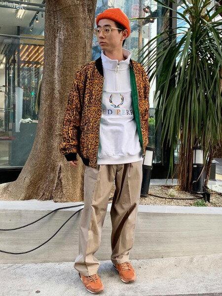 BEAMS MENのBEAMS / ロールアップ ワッチキャップを使ったコーディネートを紹介します。|Rakuten Fashion(楽天ファッション/旧楽天ブランドアベニュー)30100