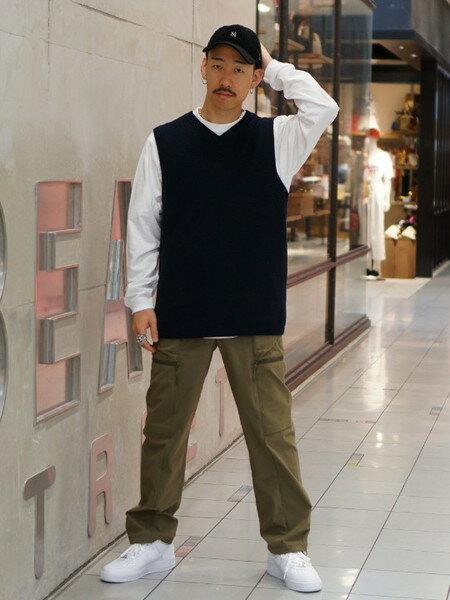 BEAMS MENのNIKE / Air Force 1を使ったコーディネートを紹介します。|Rakuten Fashion(楽天ファッション/旧楽天ブランドアベニュー)39416