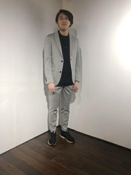 GUILD PRIMEさんのTシャツ「【Education from Youngmachines】MEN JIRO KONAMI コラボTシャツ(NIGHT)」を使ったコーディネートを紹介します。|ファッション通販楽天ブランドアベニュー(旧スタイライフ Stylife)33239