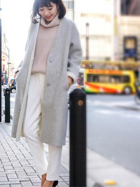 INED コート/ジャケットのコーディネート