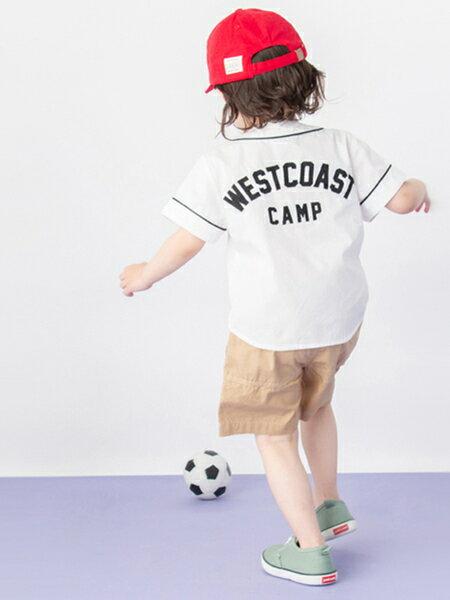NARUMIYA ONLINEさんのキッズカットソー「ベースボールシャツ」を使ったコーディネートを紹介します。|ファッション通販楽天ブランドアベニュー(旧スタイライフ Stylife)32023