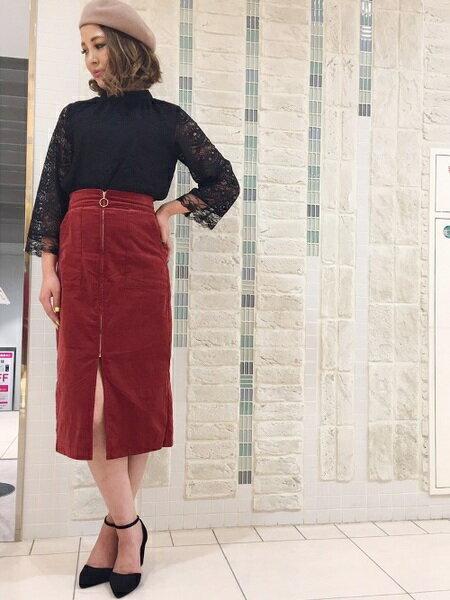 UNRELISH スカートのコーディネート
