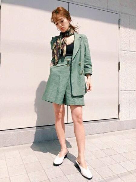 UNRELISHさんのニットその他「衿レースリブキャミソール」を使ったコーディネートを紹介します。|ファッション通販楽天ブランドアベニュー(旧スタイライフ Stylife)33274