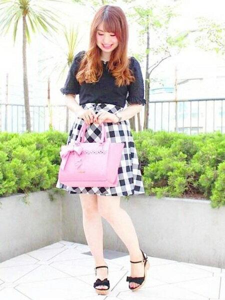 LODISPOTTOさんのフレアスカート「ルルサーキュラースカート」を使ったコーディネートを紹介します。|ファッション通販楽天ブランドアベニュー(旧スタイライフ Stylife)24021