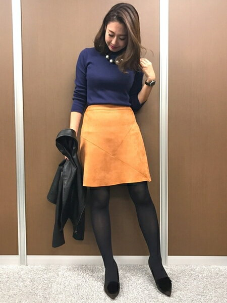M.deux スカートのコーディネート