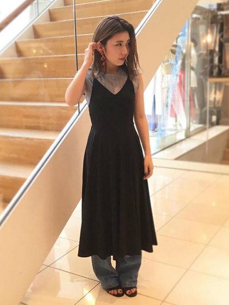 nano・universeの【nano・universe×HINANOYOSHIKAWA】サーキュラーキャミワンピースを使ったコーディネートを紹介します。|Rakuten Fashion(楽天ファッション/旧楽天ブランドアベニュー)36744